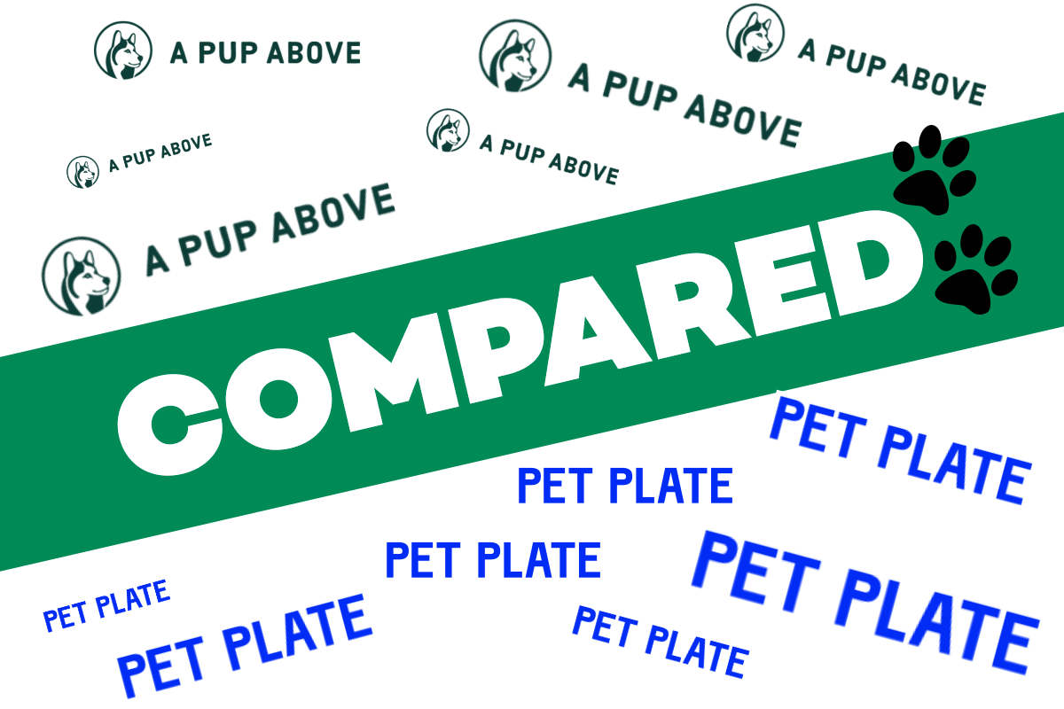 A Pup Above vs Pet Plate