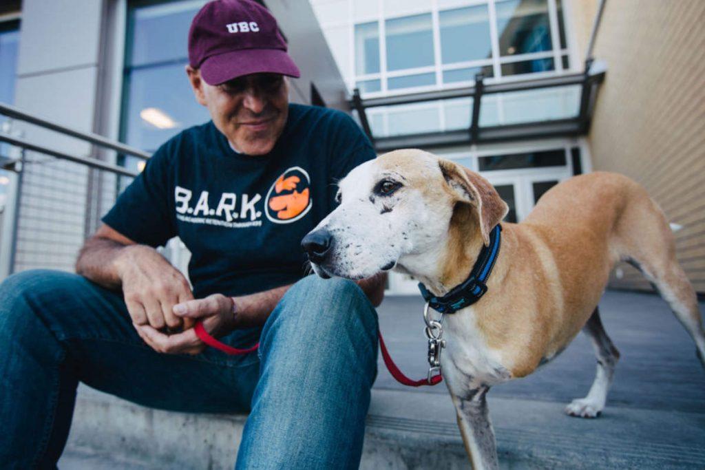 Dr John Binfet, the creator of the B.A.R.K program at UBC (Photo: B.A.R.K)