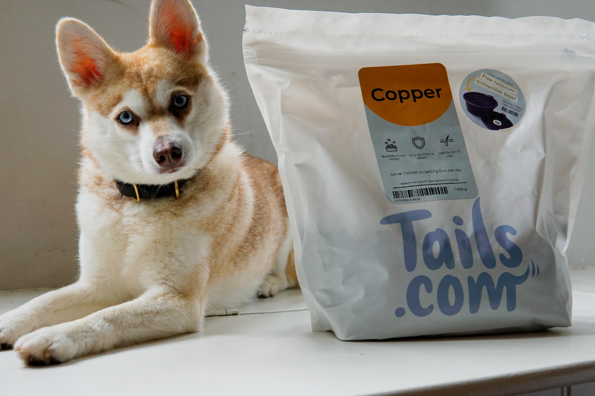 Copper and Tails dog food (Photo: lifewithkleekai / Instagram)