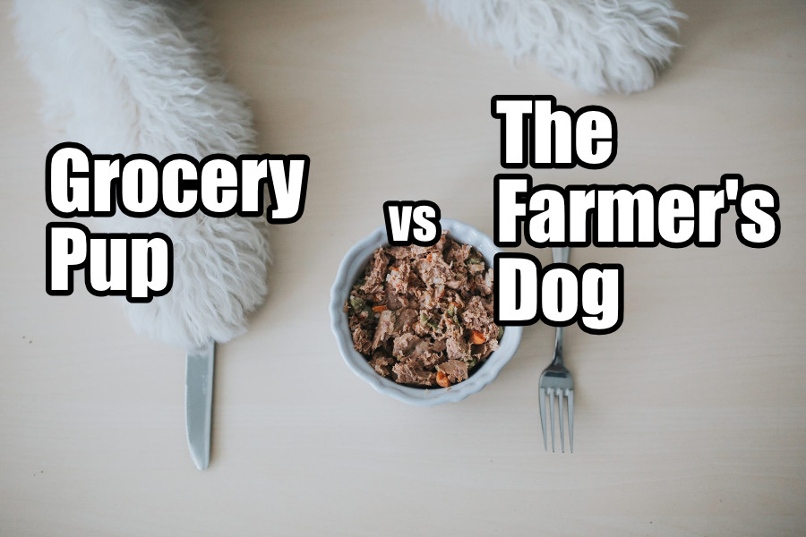 Grocery Pup vs The Farmer's Dog