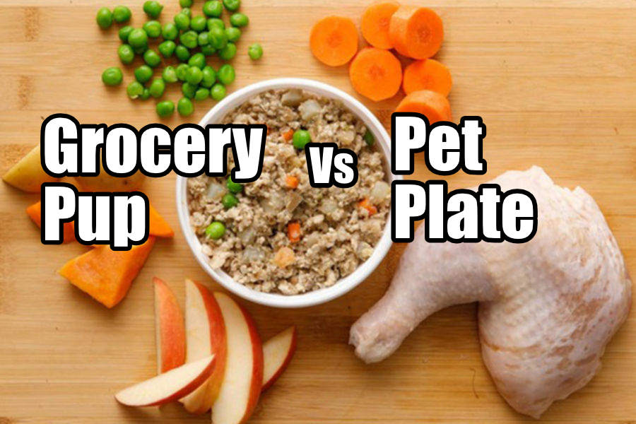 Grocery Pup vs Pet Plate