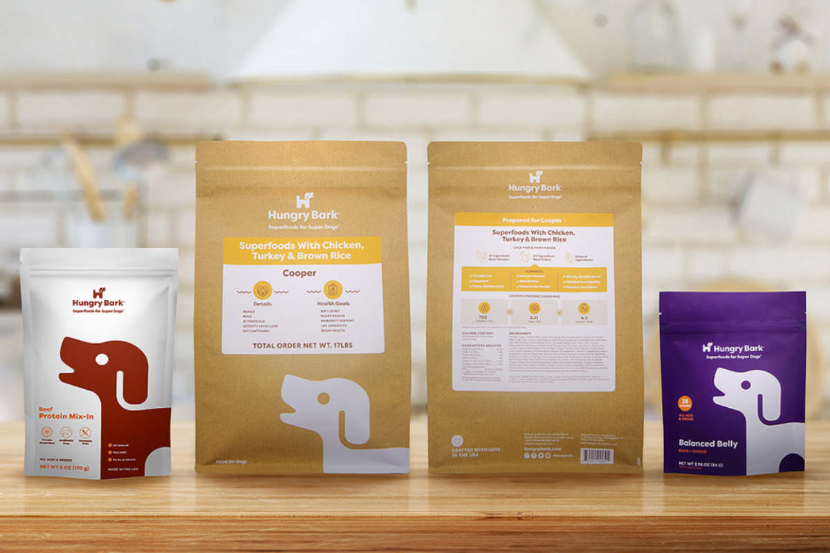 Hungry Bark's range of Superfood meals (Photo: Hungry Bark)
