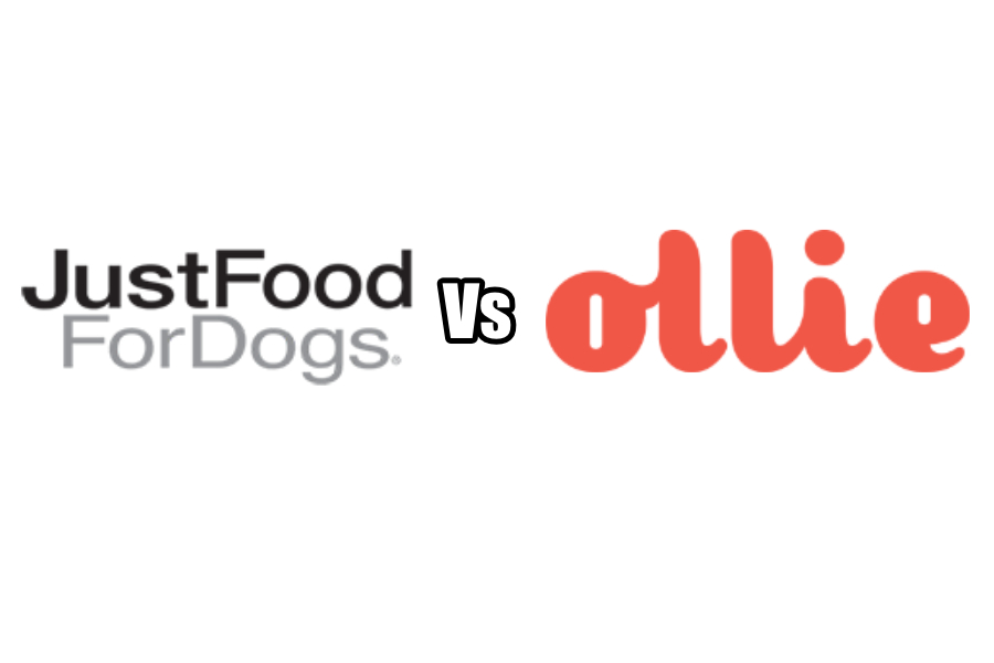 Just Food For Dogs vs Ollie