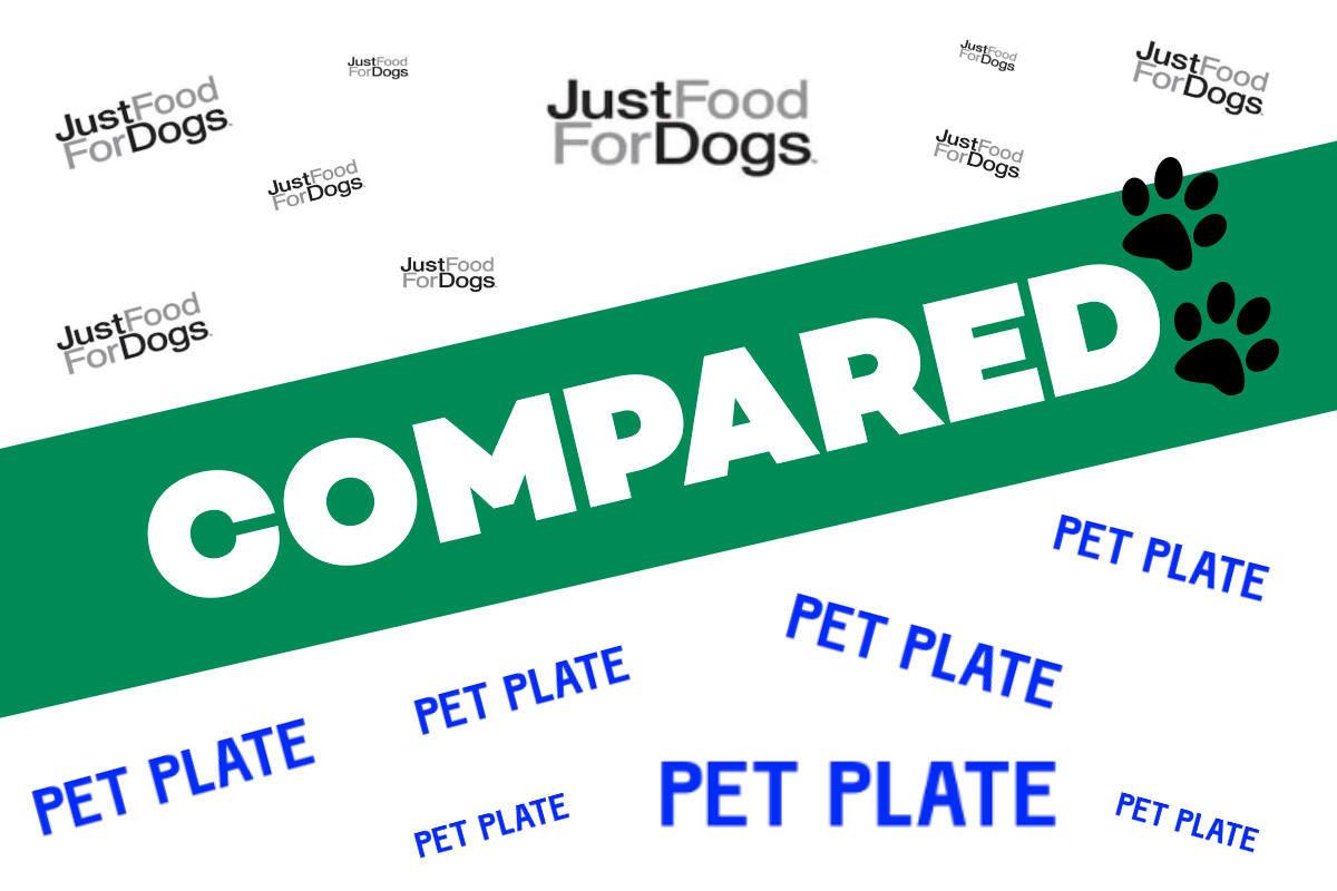 JustFoodForDogs vs Pet Plate