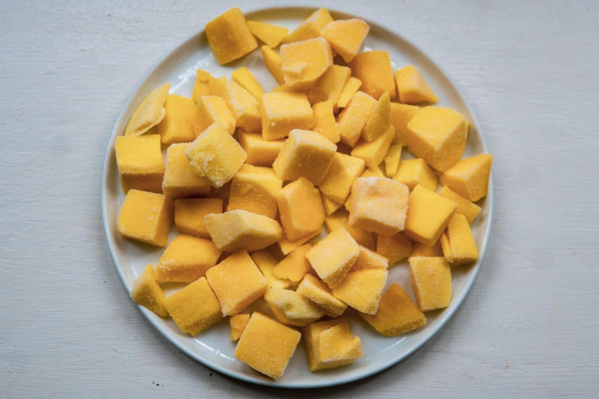 A plate of Mango chunks (Photo: helloBARK!)