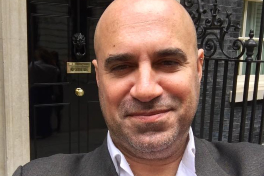 Marc Abraham outside No10 (Photo: Marc Abraham / Facebook)
