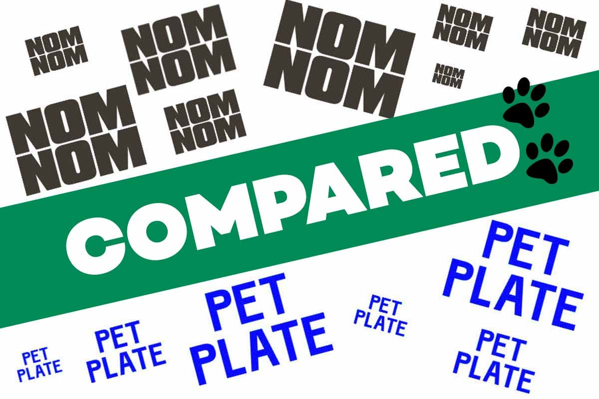 Nom Nom Vs Pet Plate Reviews