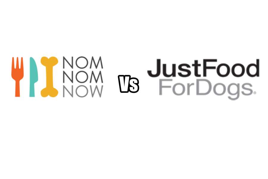 NomNomNow vs Just Food For Dogs