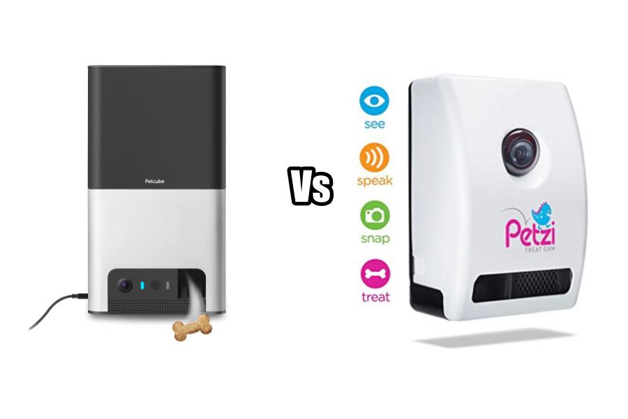 PetCube Bites 2 vs Petzi Treat Cam