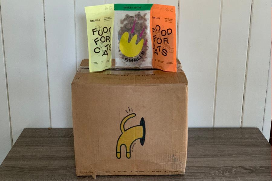 Smalls customised and fresh cat food (Photo: hellobark.com)
