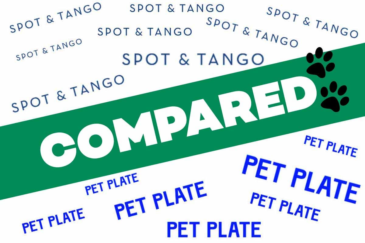 Spot & Tango vs Pet Plate Reviews
