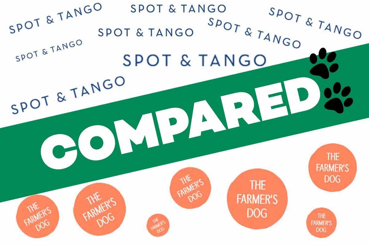 Spot & Tango vs The Farmer's Dog Reviews