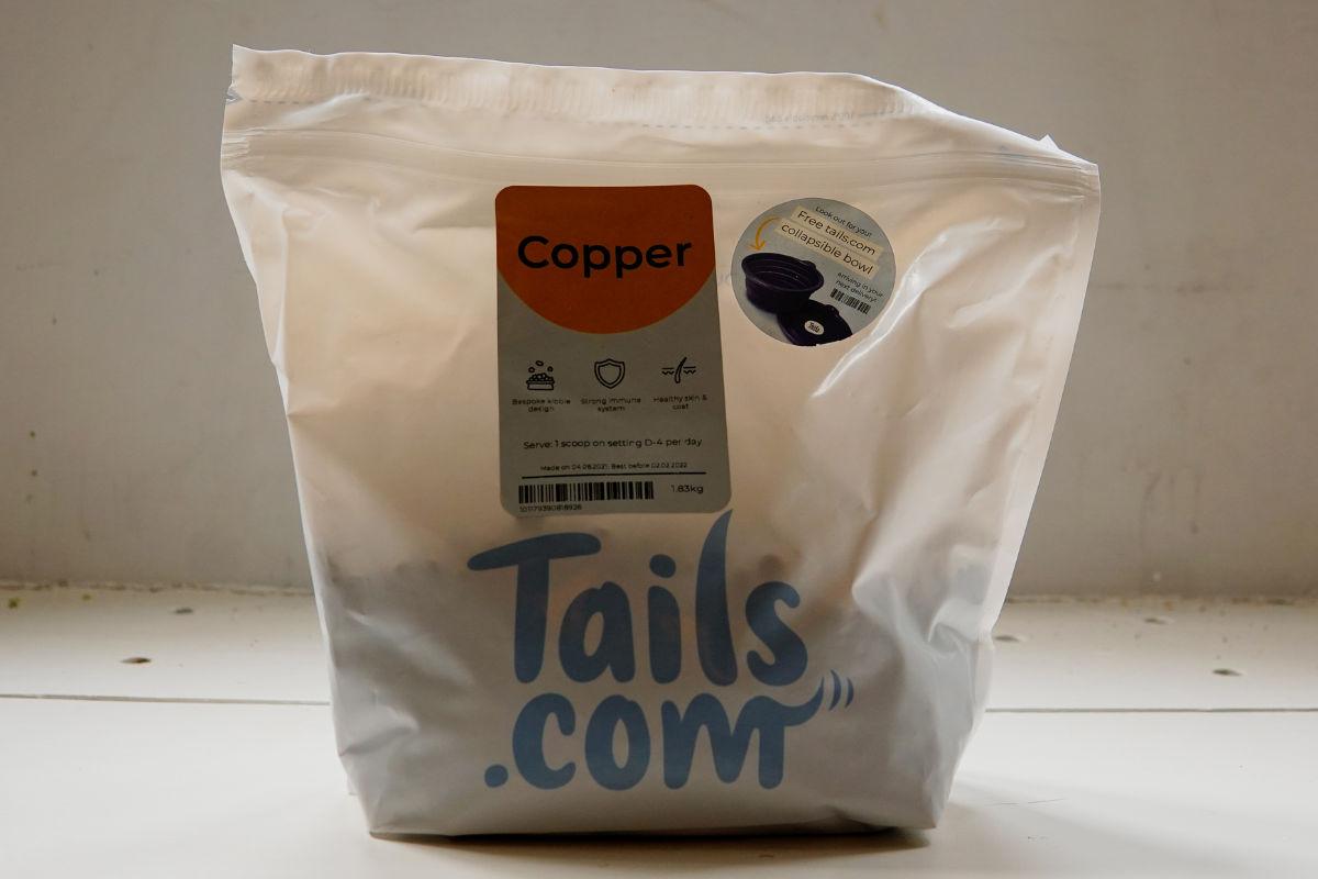 Tails dog food (Photo: lifewithkleekai / Instagram)